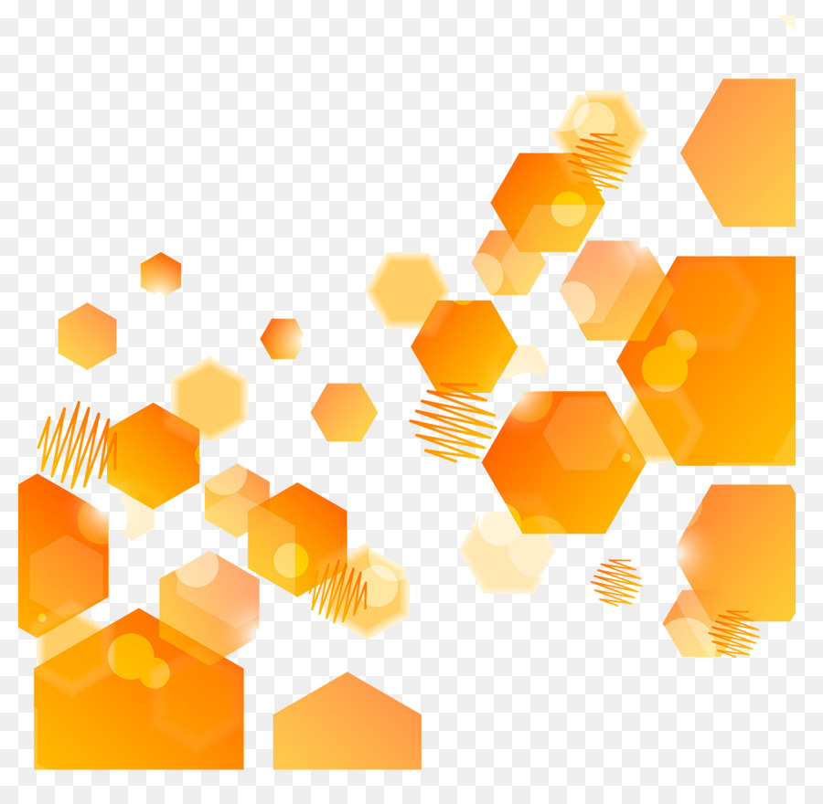 Orange Abstract Background png download.
