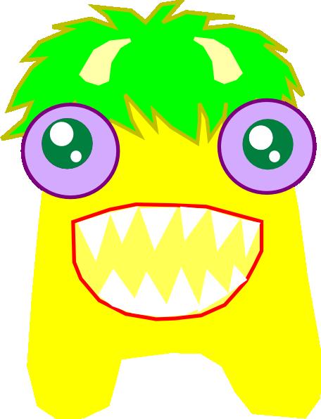 Yellow Alien Clip Art at Clker.com.
