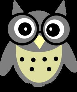 Grey Owl Clip Art at Clker.com.