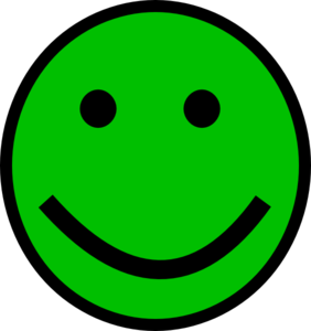 Green Smiley Face Clip Art at Clker.com.
