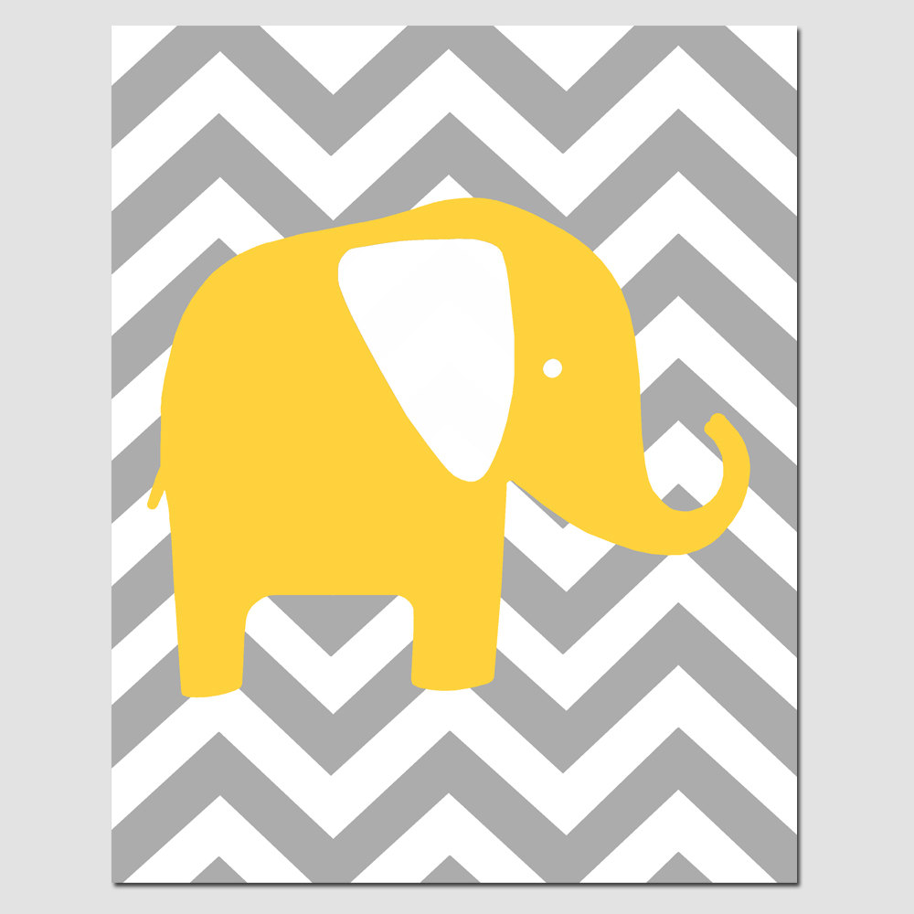 Mommy And Baby Elephant Clipart.