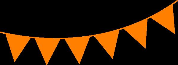 Orange Brown Bunting Clip Art at Clker.com.