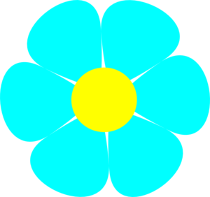 Turquoise And Yellow Clip Art at Clker.com.