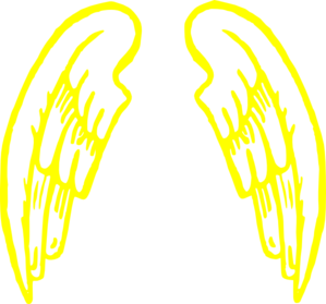 Gold.angel.wings.design Clip Art at Clker.com.