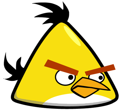 How to Draw Yellow Angry Bird with Easy Step by Step Drawing.