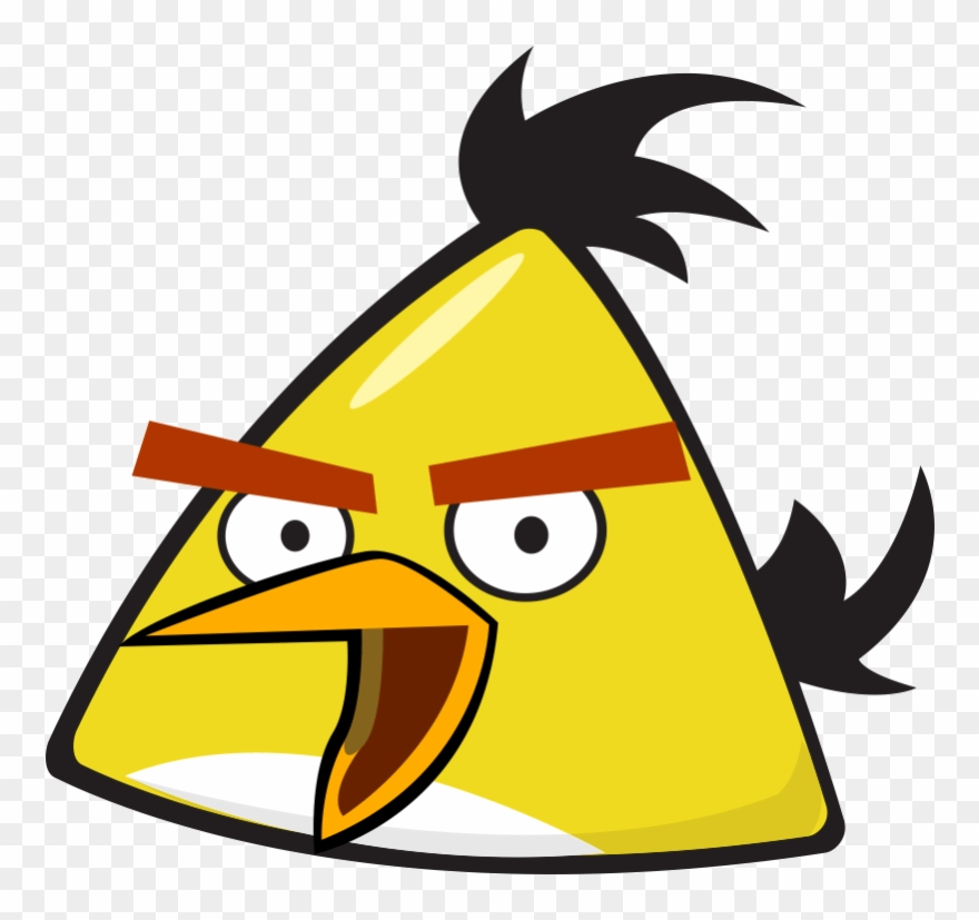 Желтая Птица Из Angry Birds Злые Птицы.