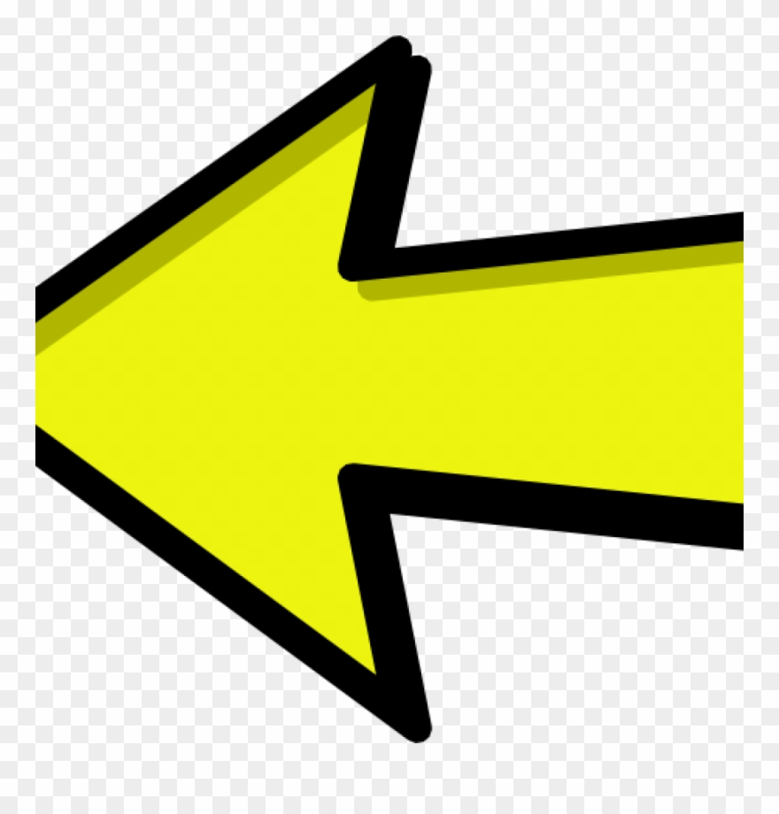 Right Arrow Clipart Left And Right Arrow Yellow Clipart.