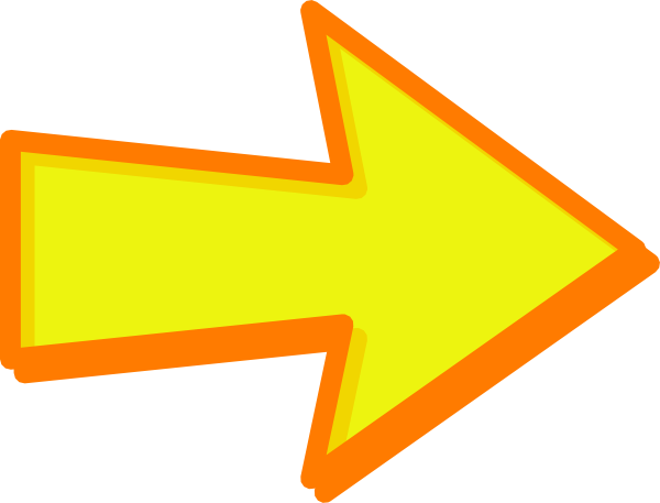 Yellow Arrow Icon #328163.