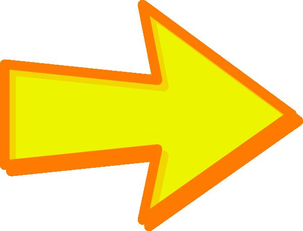Yellow Arrow Icon #328163.