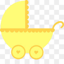 Yellow Baby Shower PNG.