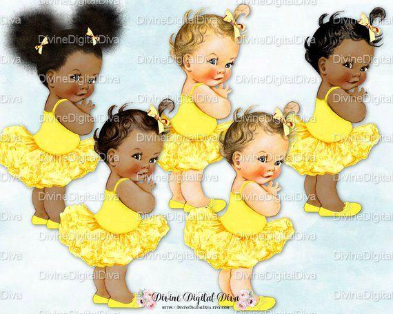Ballerina Yellow Tutu.