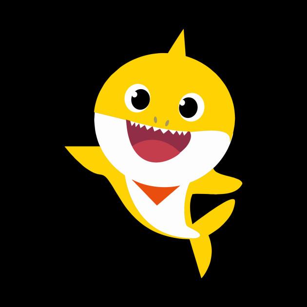 Yellow Baby Shark Clipart.