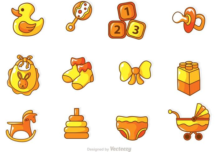 Baby Vector Icons.