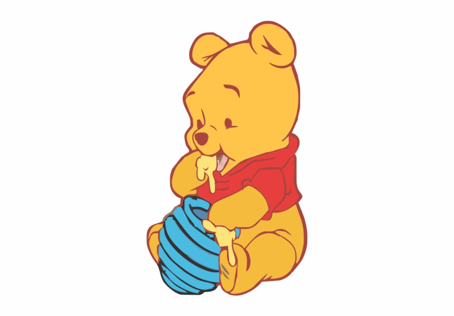 Pooh Png Winnie The Pooh Baby Vector.