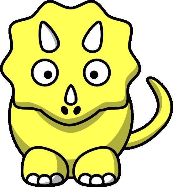 Clipart dinosaur yellow, Clipart dinosaur yellow Transparent.