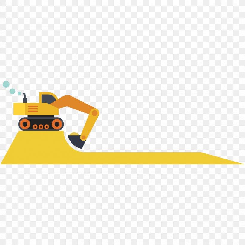 Yellow Excavator Vecteur, PNG, 1181x1181px, Yellow.