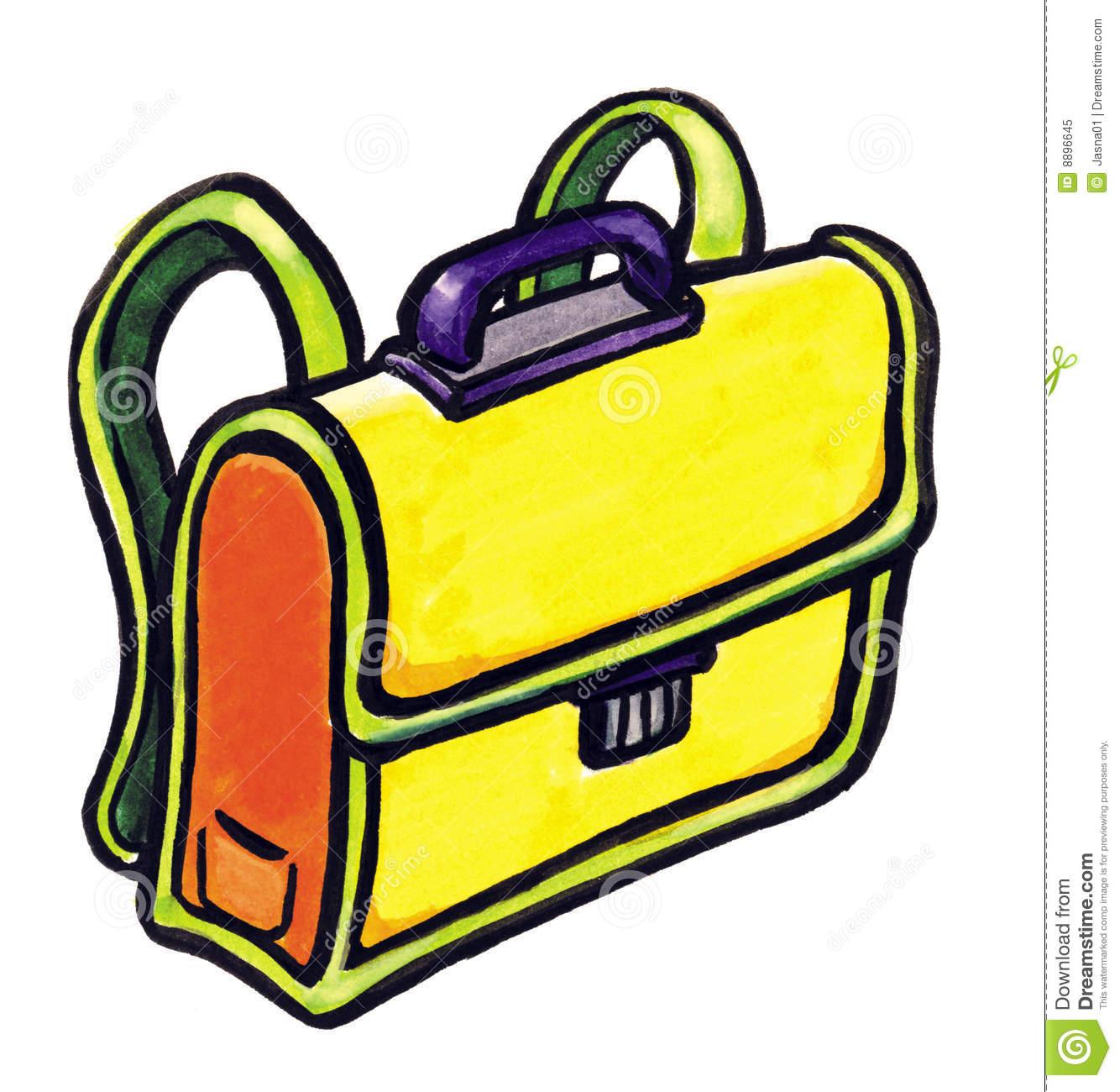 School Bag Clipart.