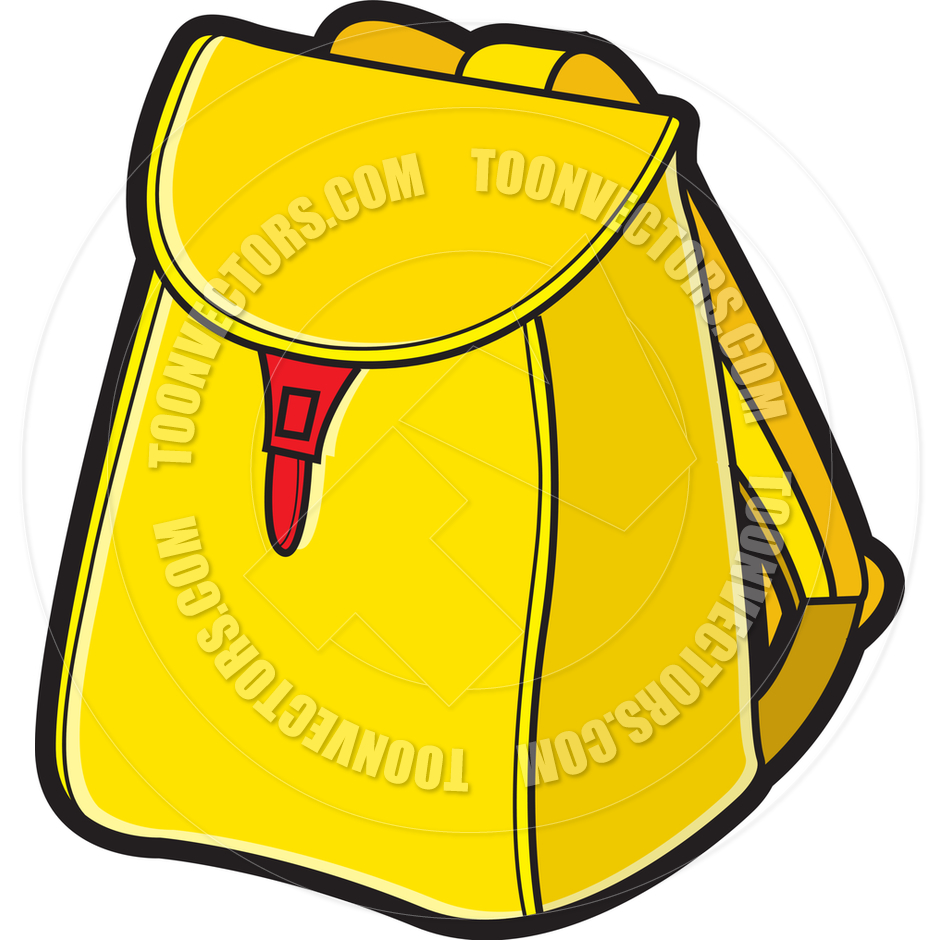 Cartoon School Bag by Lal Perera.