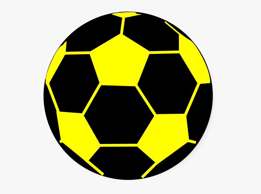 Black And Yellow Ball , Free Transparent Clipart.