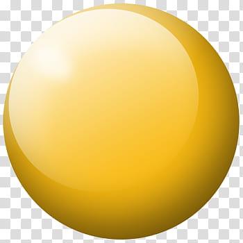 Orange orb, round yellow ball illustration transparent background.