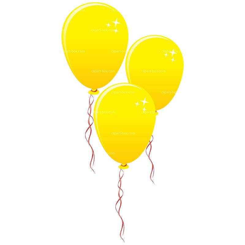 Yellow Balloon Clipart#1873572.
