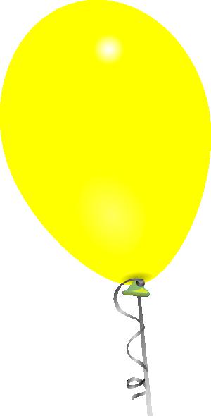 Yellow Balloon Clip Art at Clker.com.