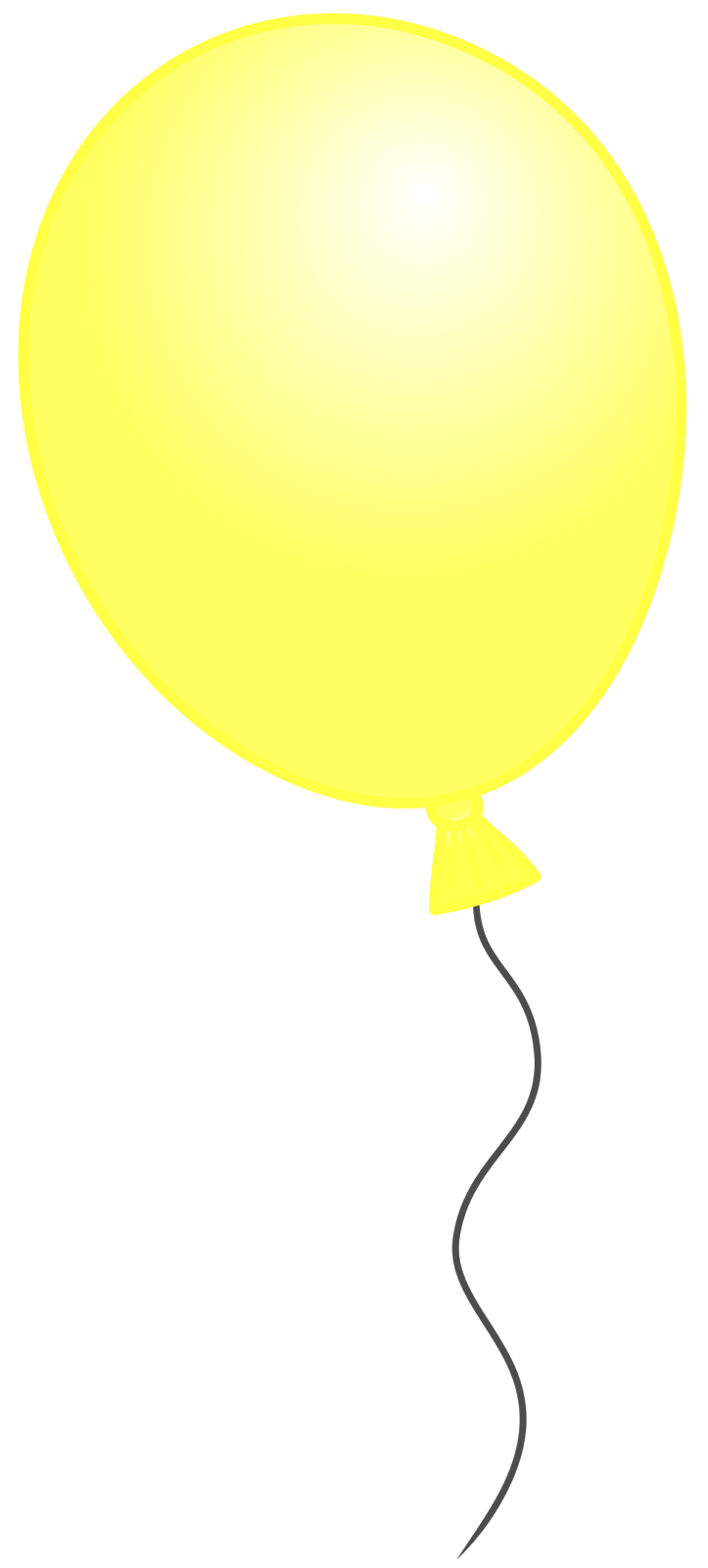 Images: Yellow Balloon Clipart.