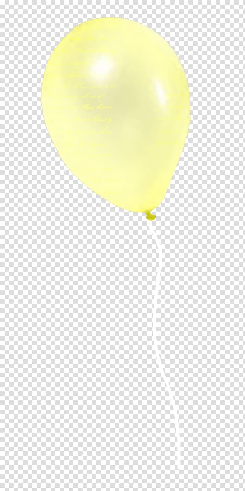 Balloon Yellow, Yellow Balloon transparent background PNG.