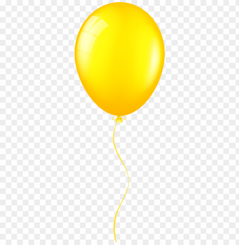 Download yellow balloon clipart png photo.