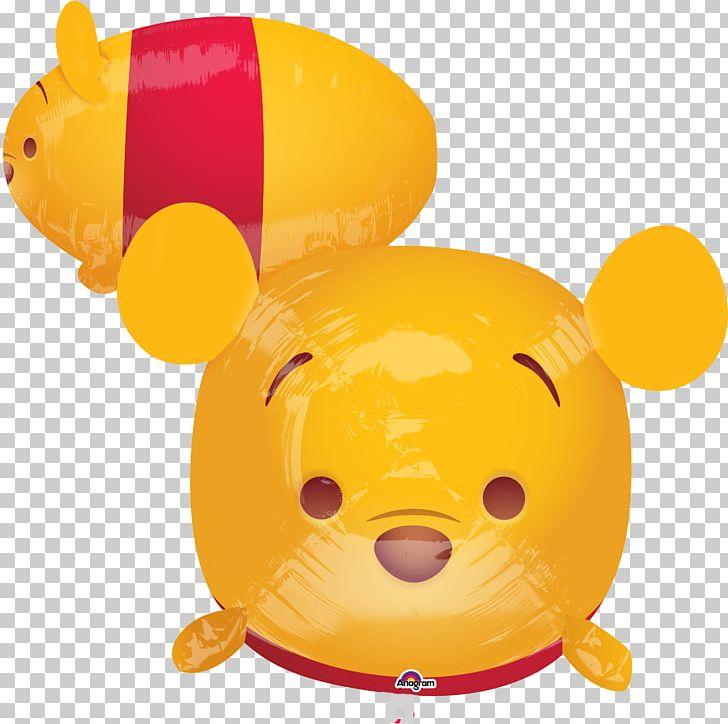 Disney Tsum Tsum Winnie The Pooh Minnie Mouse Mylar Balloon.