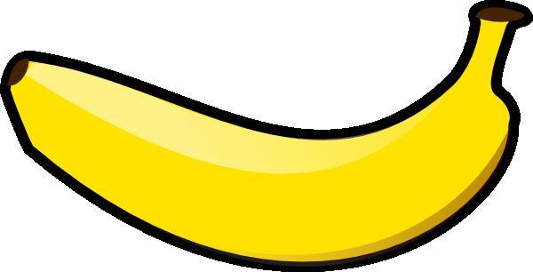 One banana clipart.