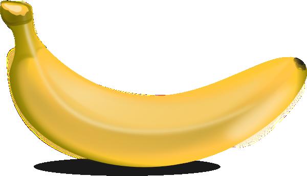 Yellow Banana Clip Art at Clker.com.