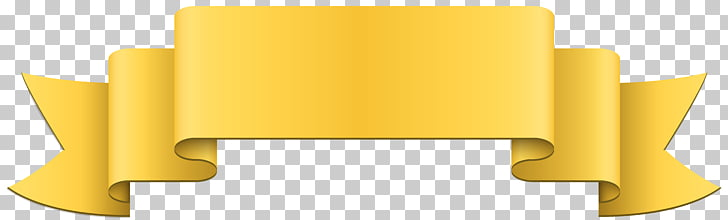 Banner Yellow , Banner Yellow , yellow ribbon PNG clipart.