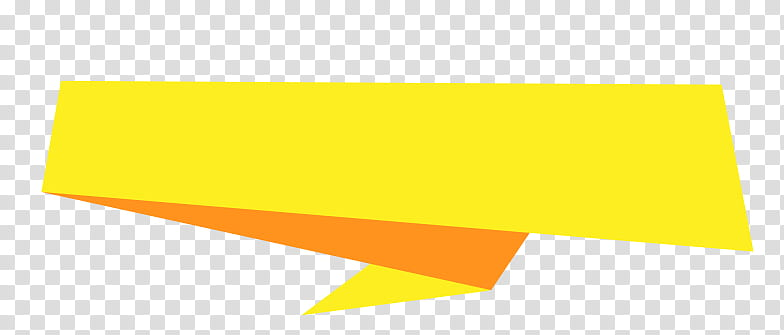 Banners, yellow strap transparent background PNG clipart.