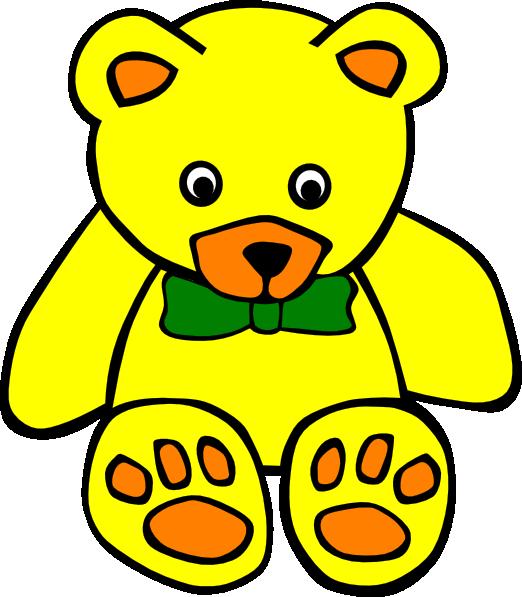 Clipart bear yellow, Clipart bear yellow Transparent FREE.