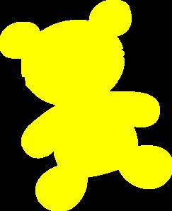 Yellow Teddy Bear Clip Art at Clker.com.