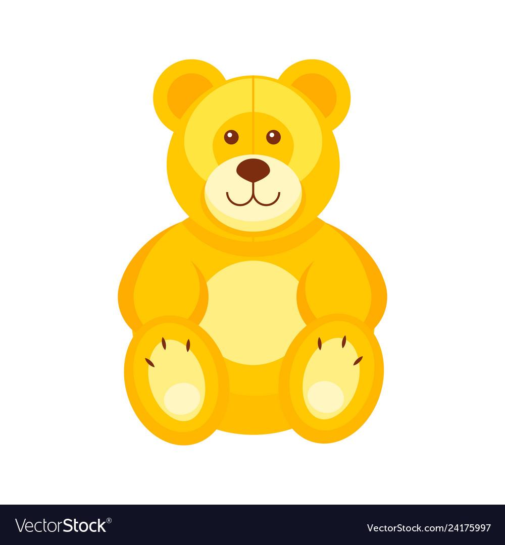 Pretty teddy bear kids toys.