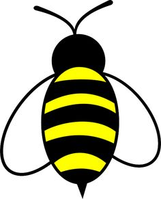 Cute Bee Clipart.