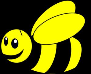 Bumble bee yellow clip art at vector clip art online.