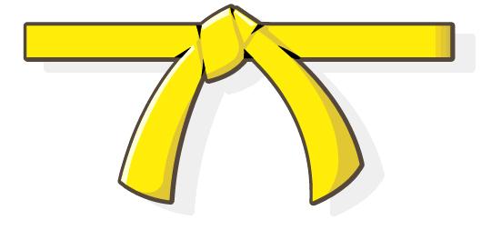 Belt clipart yellow belt, Belt yellow belt Transparent FREE.