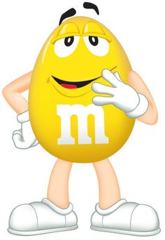 Yellow mm clipart.