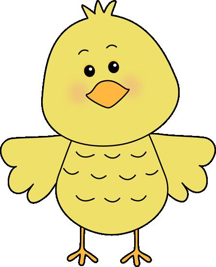 Little Yellow Bird Clip Art.