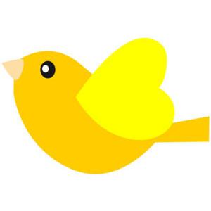 Yellow Bird Free ClipArt & Clip Art Images.