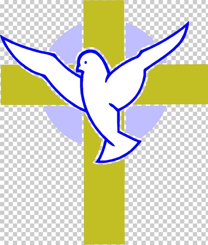 Calvary Christian cross Doves as symbols Religion , cross.