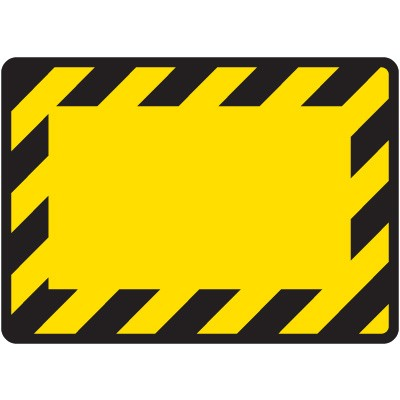 Black and yellow clipart border.