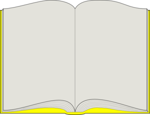 Yellow Book Clip Art at Clker.com.