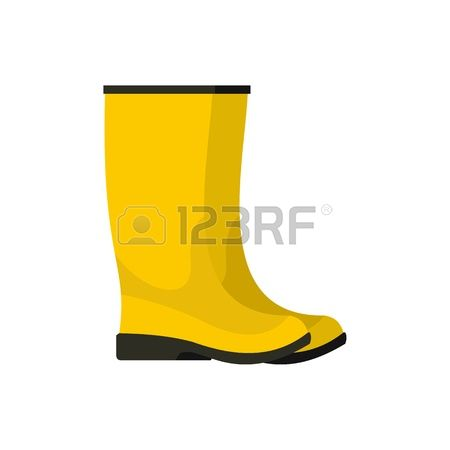 2,628 Yellow Boots Stock Vector Illustration And Royalty Free.
