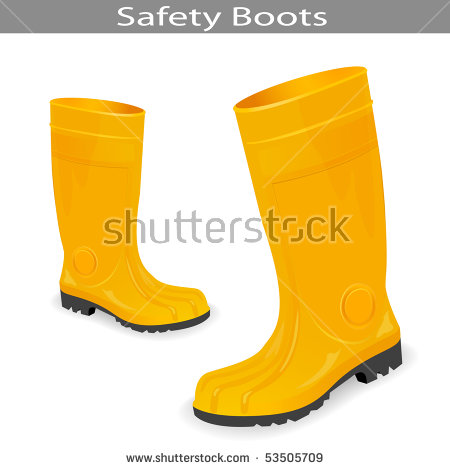 Yellow Boots Stock Photos, Royalty.