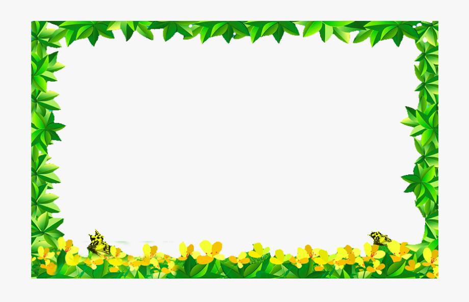 Green And Yellow Border , Transparent Cartoon, Free Cliparts.