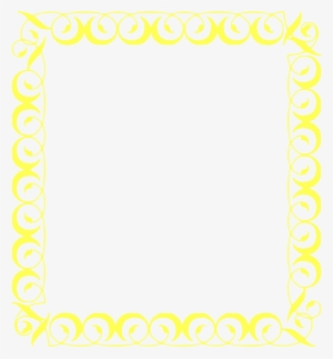 Yellow Border PNG, Transparent Yellow Border PNG Image Free Download.
